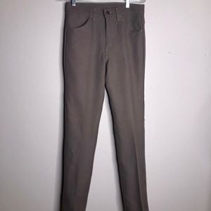 Levi's Vintage Gray Taupe Polyester Pants